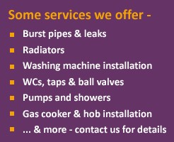 Weycombe Plumbing and Heating offer a wide range of services